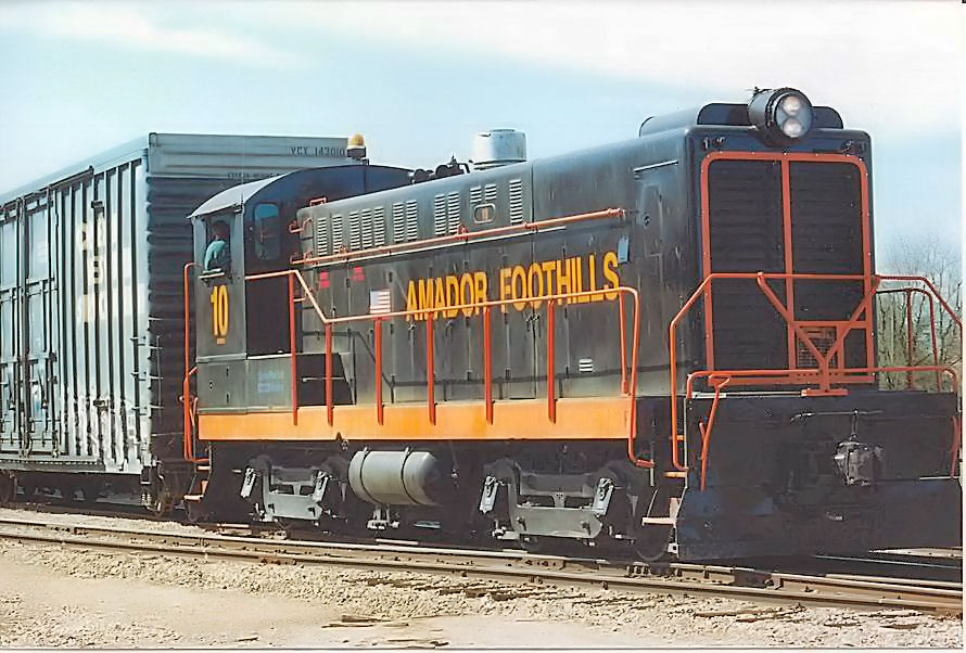 Foothills Railroad